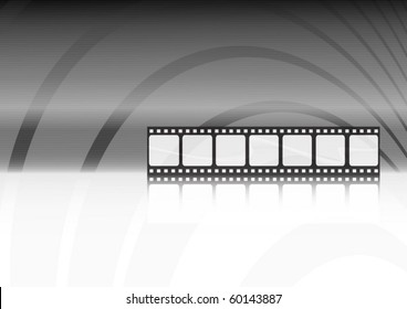 Modern movie vector background illustration