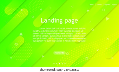 modern neon green yellow bright abstract background,flyer banner poster card web cover,simple neon background,landing page website abstract background