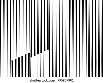 Modern pattern with lines.unusual graphics Design .Background with Vector stripes .Geometric shape.
