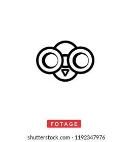 modern photography logo or symbol