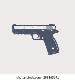 modern pistol stock vectors images vector art shutterstock shutterstock