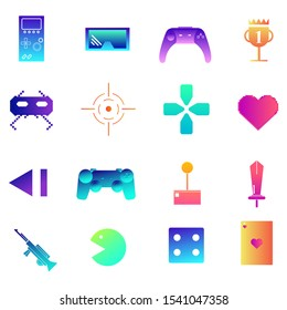Modern Pixels Icon Online Games Icon Stock Vector Royalty Free 1541047358