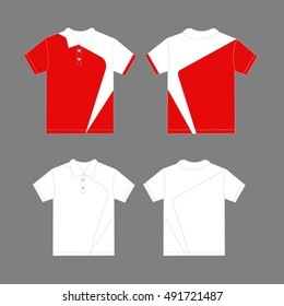 Modern polo shirt design template vector