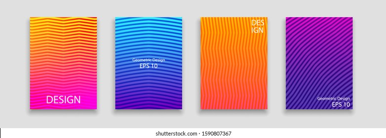 Modern Poster Template with Abstract Shapes. Creative Design Modern Style for Flyer, Collage, Postcard, Packaging, Branding. Vector EPS 10.