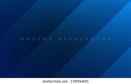 Moderne Premium, dunkelblauer Hintergrund und abstrakte Bildschirmhintergrund mit stilvollen Farblinien und Elementen. Reich blauer abstrakter Hintergrund für Header, Website-Vorlage, Landing-Page, Banner.