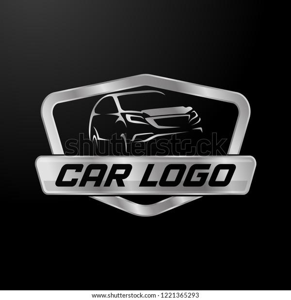 Modern Professional Car Template Logo Design Stock Vector Royalty
