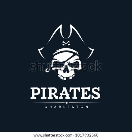 Modern professional emblem pirates
