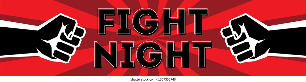 Modern professional fighting template logo design with fist