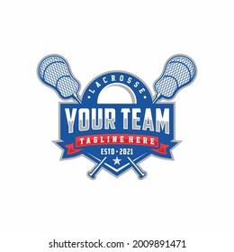 Modern professional Lacrosse template logo design for Lacrosse club