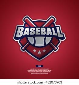Modern professional logo for a baseball team.