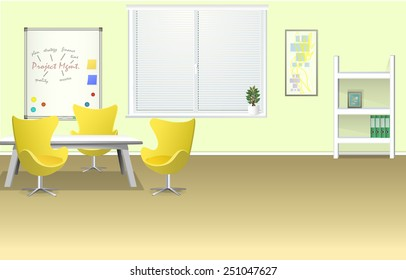 Modern Room Trainings with Board