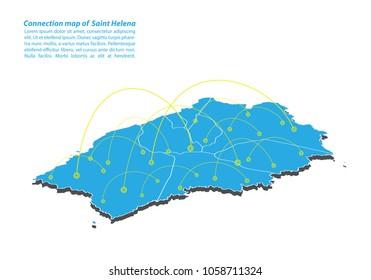 Saint Helena Map Images Stock Photos Vectors Shutterstock
