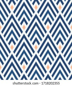 Modern Seamless Geometric Abstract Background Suitable for Wallpapers, Fabric and Website Backgrounds. Seamless pattern with stripes. Graphic modern pattern. Vector illustration