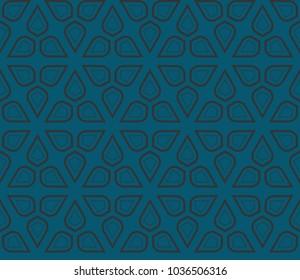 Modern seamless geometric ornament. luxury background. Vector illustration