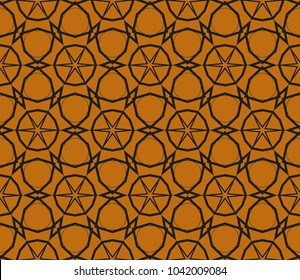 Modern seamless geometric ornament. luxury background.Vector illustration