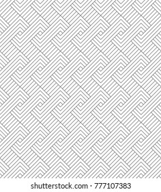 MODERN SEAMLESS VECTOR PATTERN. ZIG ZAG HERRINGBONE TEXTURE. REGULAR GEOMETRIC PARALLEL LINE