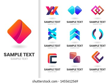 Modern Shape Vector for banner, poster, flyer
