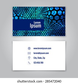 Modern simple business card template card stock illustration modern simple business card template vector illustration flashek Choice Image