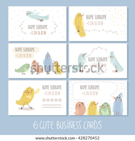 Modern Simple Light Business Card Template Stock Vector Royalty