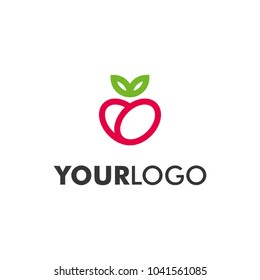 Modern and simple logo design. Logo concept for healthy lifestyle or agricultural company. Vector icon