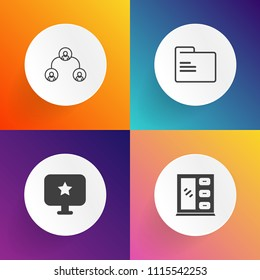 folder structure icon images stock photos vectors shutterstock https www shutterstock com image vector modern simple vector icon set on 1115542253