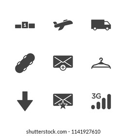 Modern Simple Vector Icon Set. Contains Icons Technology, Board, 3g,  Aviation,