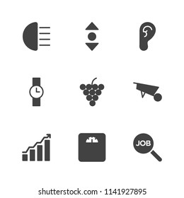 Ear diagram images stock photos vectors shutterstock modern simple vector icon set contains icons human business watch vertical ccuart Choice Image