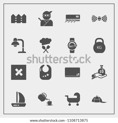 Modern Simple Vector Icon Set Sign Stock Vector Royalty Free