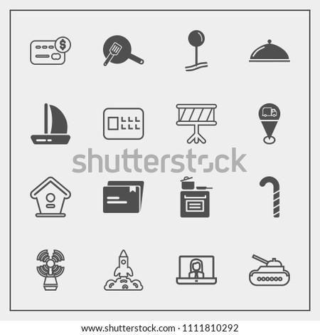 6fb50c8a489559 Modern Simple Vector Icon Set Lollipop Stock Vector (Royalty Free ...