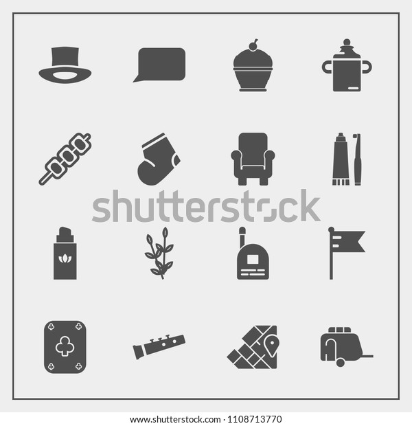 Modern Simple Vector Icon Set Sweet Stock Vector Royalty Free 1108713770