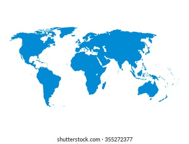 simplified vector world map World Map Simplify Images Stock Photos Vectors Shutterstock