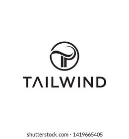 modern and sophisticated tailwind vector,or tp design,tp logo vector, tailwind logo vector