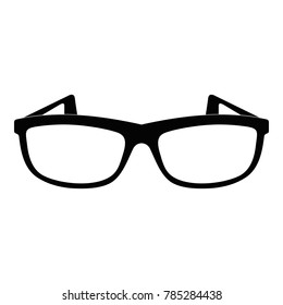Modern spectacles icon. Simple illustration of modern spectacles vector icon for web