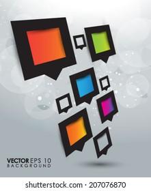 Modern Square Design EPS 10
