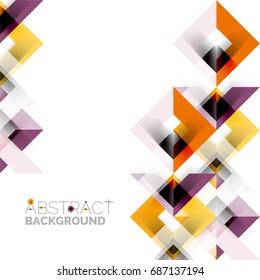 modern square geometric pattern design on stock illustration