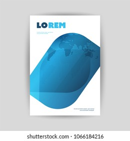 Modern Style Flyer or Cover Design for Your Business - Applicable for Reports, Presentations, Placards, Posters - Creative EPS10 Vector Template