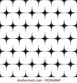Modern stylish abstract design. Seamless vector pattern.