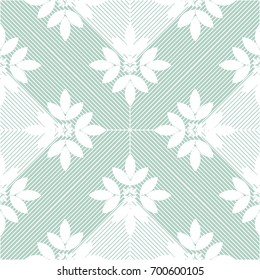 Modern stylish floral flower pattern for textile, wallpaper, pattern fills, covers, surface, print, gift wrap scrapbook decoupage Seamless abstract classic pattern