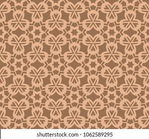 modern stylish geometry seamless pattern art deco background. Luxury texture for wallpaper, invitation. Vector illustration and handmade symbol.