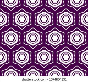 modern stylish geometry seamless pattern art deco background. Luxury texture for wallpaper, invitation. Vector mosaic illustration.