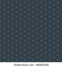 Modern stylish isometric pattern texture, Three-dimensional rectangle, Repeating geometric background with rhombus circles variously, vector illustration