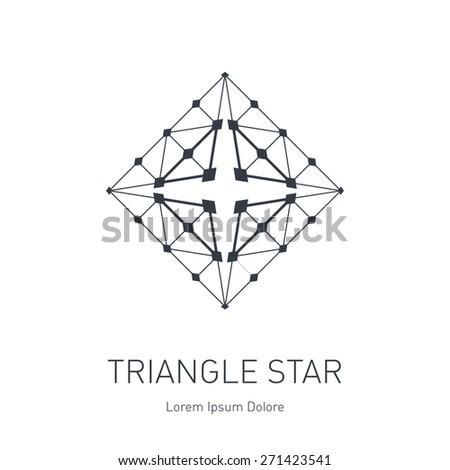 modern stylish logo design element vector stock vector royalty free