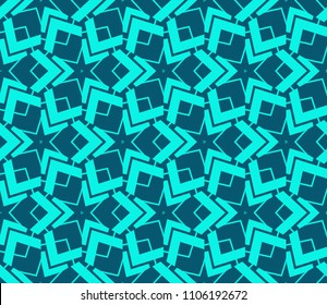 Modern stylish texture. Repeating abstract background with chaotic strokes.Vector monochrome seamless pattern