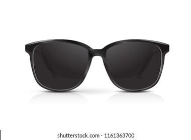 Modern sunglasses vector.
