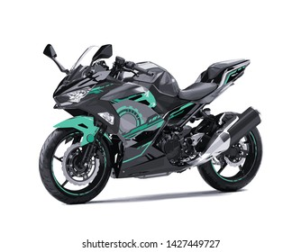 Modern super sports bike team Motogp speed race vector sticker decal strip livery simple template creative illustration isolated
