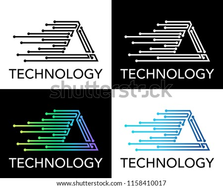 triangular greek letter triangular letter world of example 10598 | modern technology logo made triangular 450w 1158410017