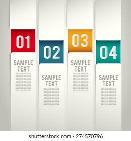 Modern Template Design Set : Vector Illustration