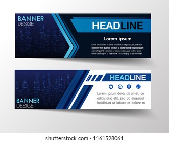 modern text box template for website computer graphic technology, banner Infographics