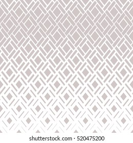 Modern  texture with rhombuses, squares. Stylish vector pattern. Repeating geometric tiles.