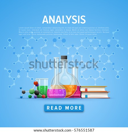 Modern Tool Set Chemistry Information Card Stock Vector (Royalty ...